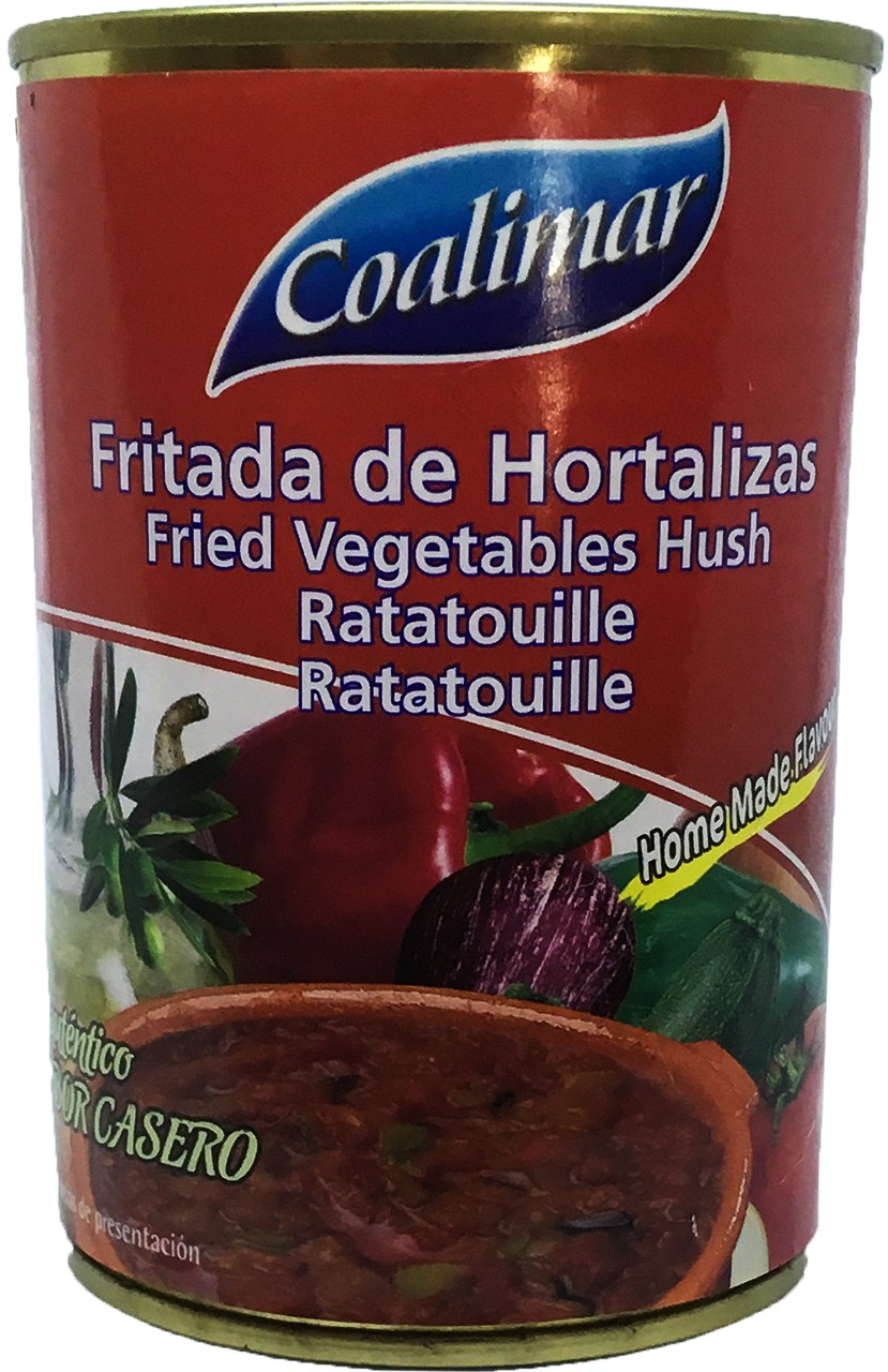 Ratatouille - Fritada de Hortalizas