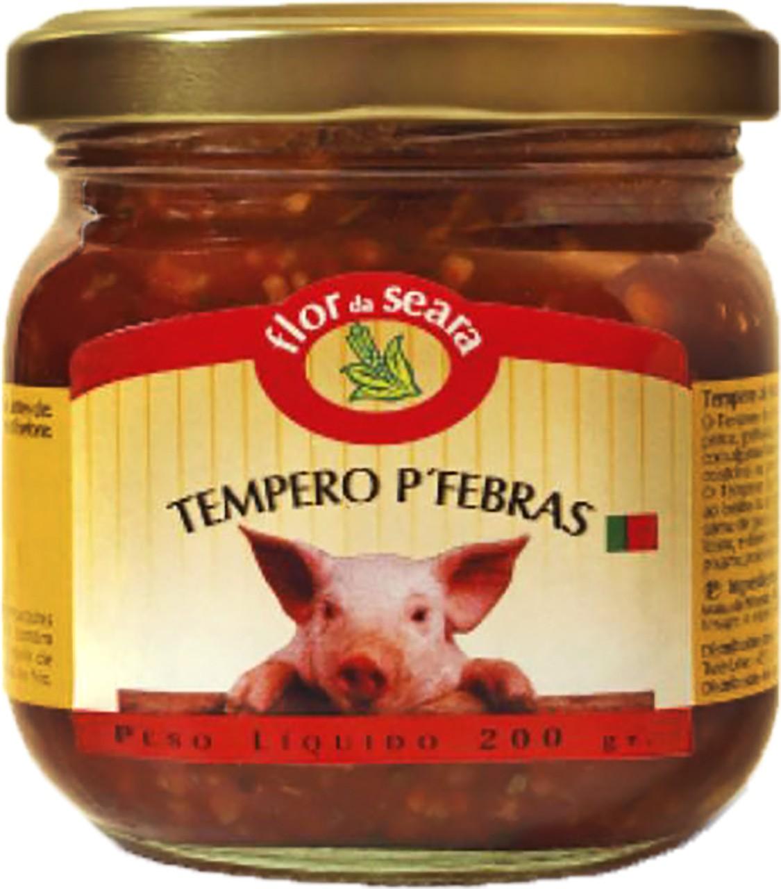 Fleischgewürzpaste - Tempero para Febras