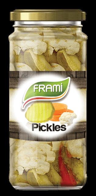Eingelegtes Gemüse - Pickles Frami