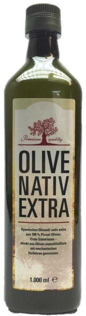 Picual Natives Olivenöl Extra 1 Liter