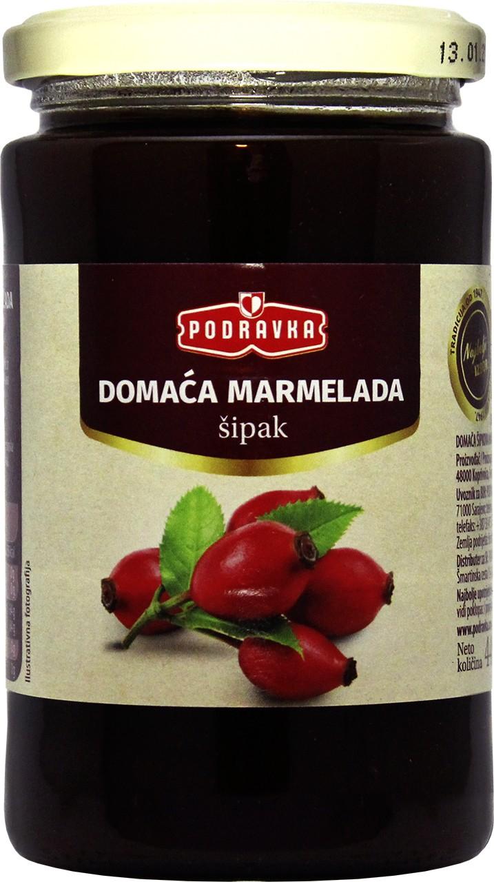 Hagebuttenmarmelade - Domaća marmelada šipak