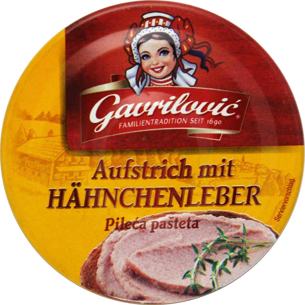 Hähnchenleberpastete - Pileća pašteta