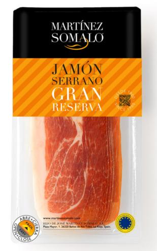 Serrano Schinken Gran Reserva 500 gr. geschnitten