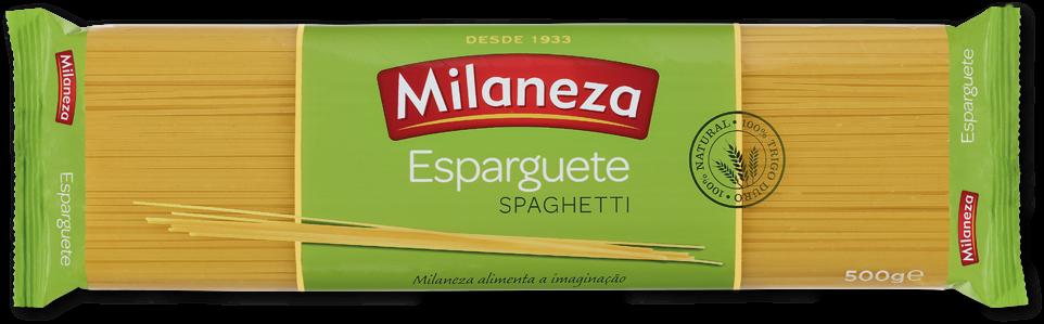 Massa Esparguete - Hartweizennudeln 500gr. - Milaneza - Portugal