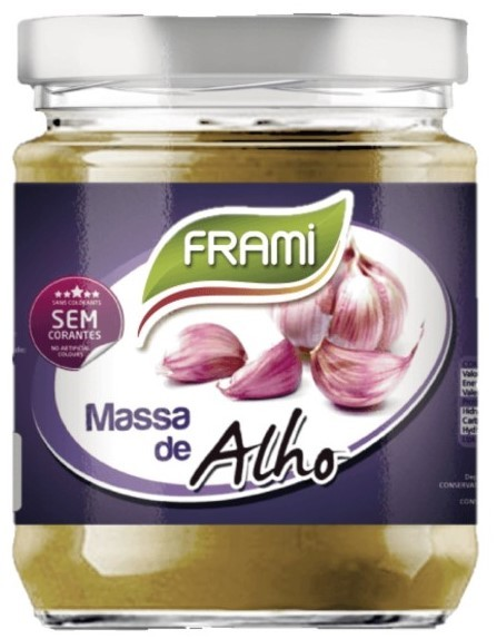 Knoblauchpaste - Massa d`Alho 200gr. - Frami - Portugal