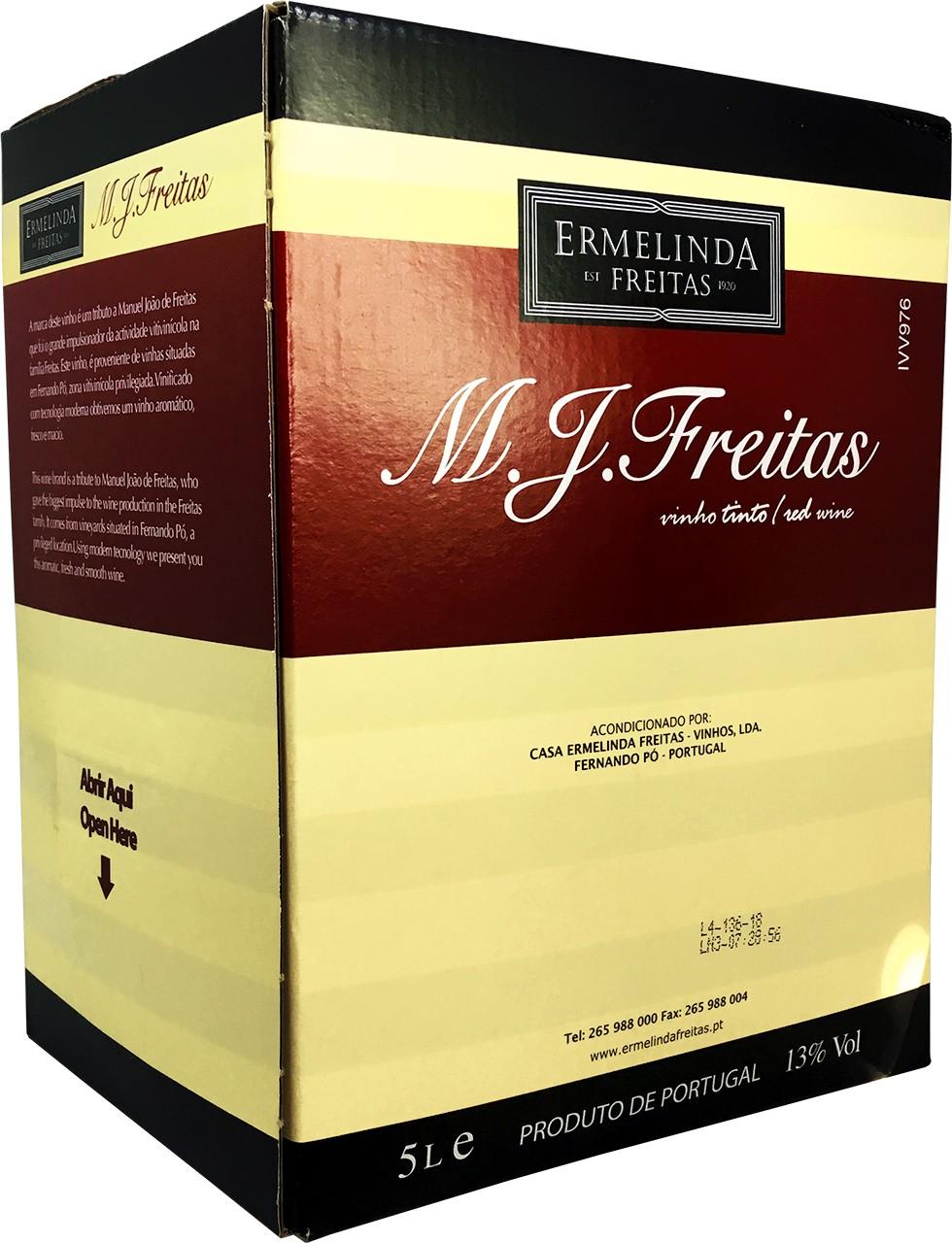 Freitas Tinto 5 Ltr. - Rotwein - Bag in Box - Setúbal - Portugal