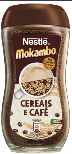 Mokambo löslicher Kaffee - Cereais e Café - Nestle - Portugal