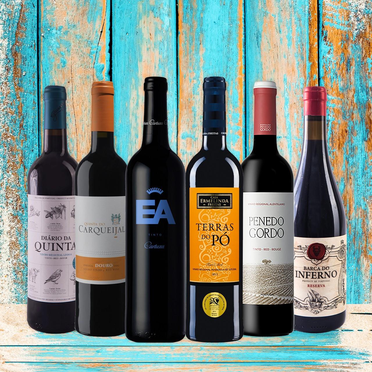 Rotwein - Probierbox Portugal
