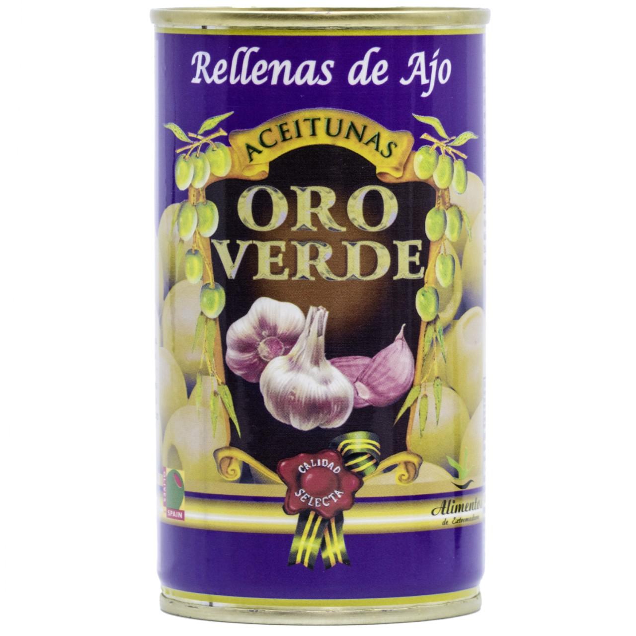Oliven mit Knoblauchpaste gefüllt - Aceitunas rellenas de Ajo