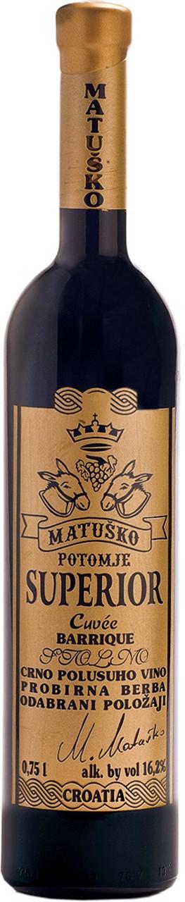 Matusko Superior Cuvee Barrique - Rotwein - Pelješac - Kroatien
