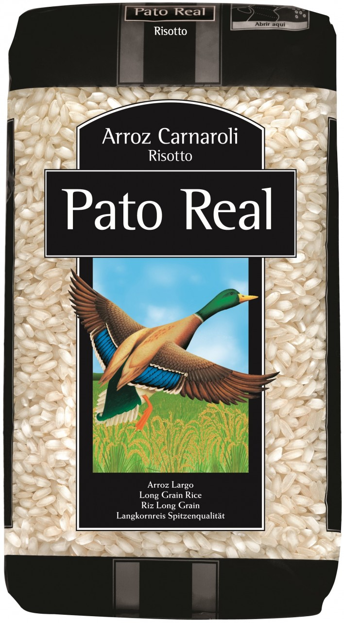 Carnaroli-Risotto-Reis - Arroz Carnaroli Risotto Pato Real