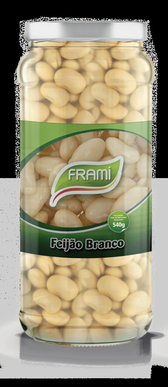 Weiße Bohnen gekocht - Feijão Branco Cozido