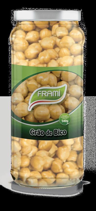 Kichererbsen gekocht - Grão de Bico Cozido