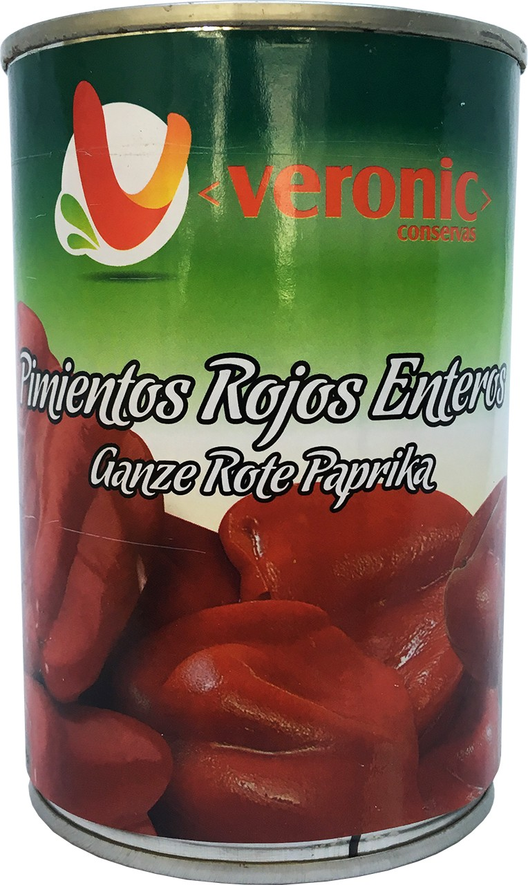 Ganze Rote Paprika - Pimientos Rojos Enteros