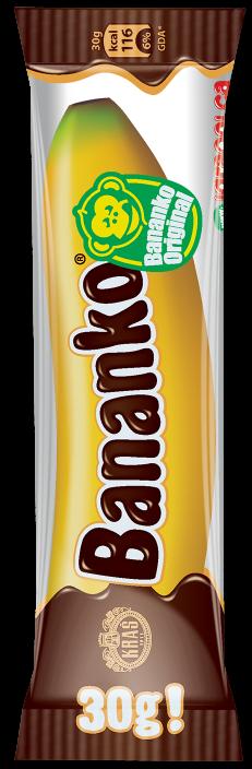 Banane-Schokoriegel - Bananko 30gr.