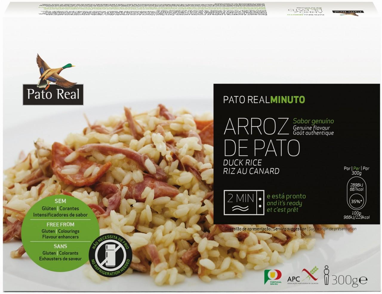 Reisgericht mit Entenfleisch - Arroz de Pato 300gr. Pato Real