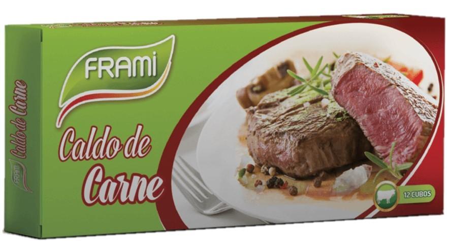 Fleischbrühwürfel - Caldo de Carne 12 Stück Frami