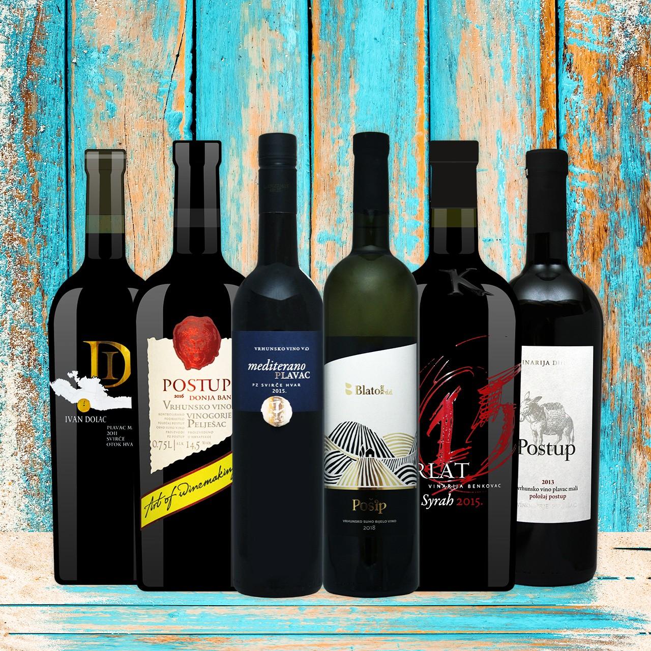 Premium - Weinbox Kroatien