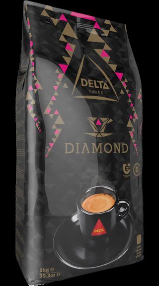 Röstkaffee, ganze Bohne - Café Delta Diamond - Portugal