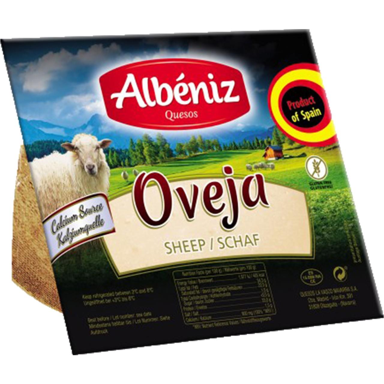 Schafskäse Albeniz 250 gr. - Queso de Oveja - Spanien