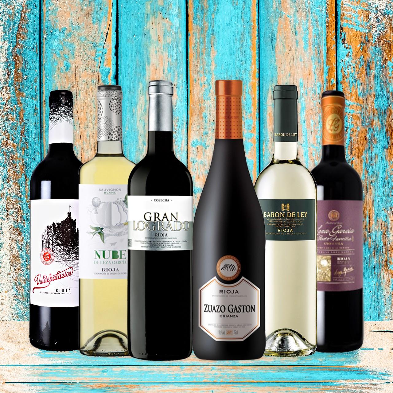 Rioja - Probierbox Spanien