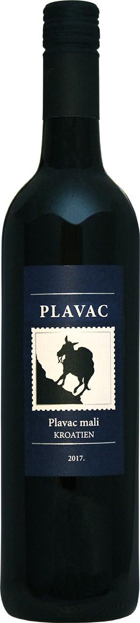 Badel Plavac 0,75 Ltr. - Rotwein - Dalmatien - Kroatien