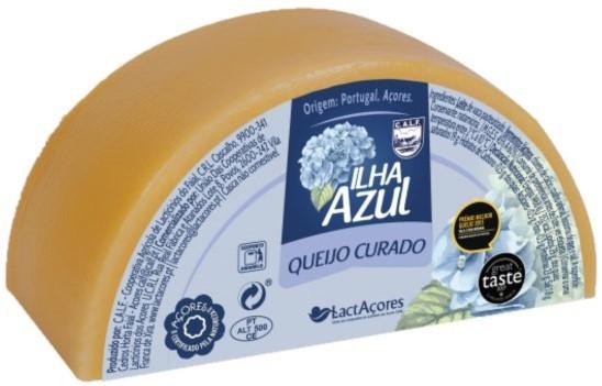 1/2 Queijo Ilha Azul Nova Açores - Azoren-Käse - Portugal