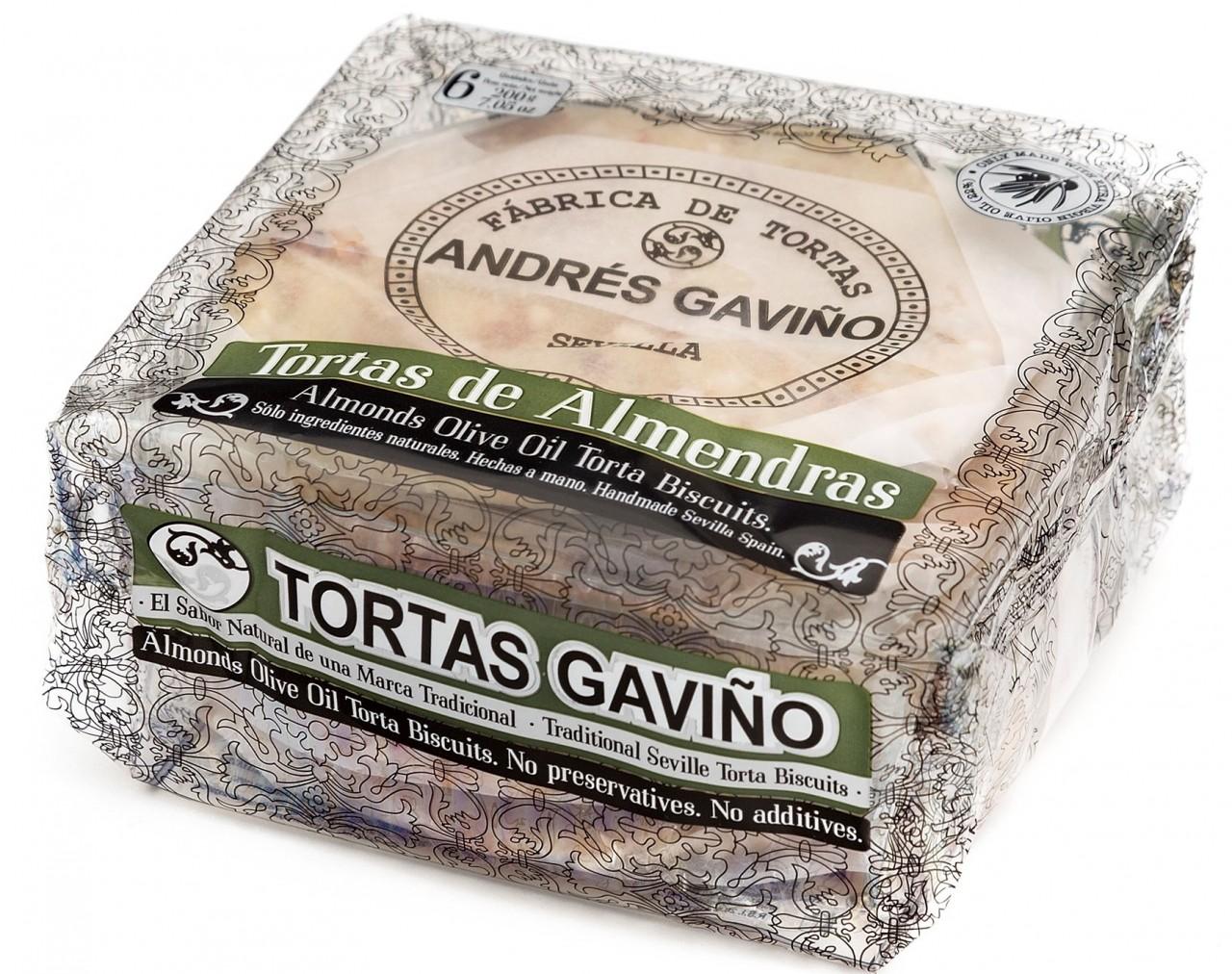 Traditionelles Gebäck mit Mandeln - Torta de Almendras - Spanien