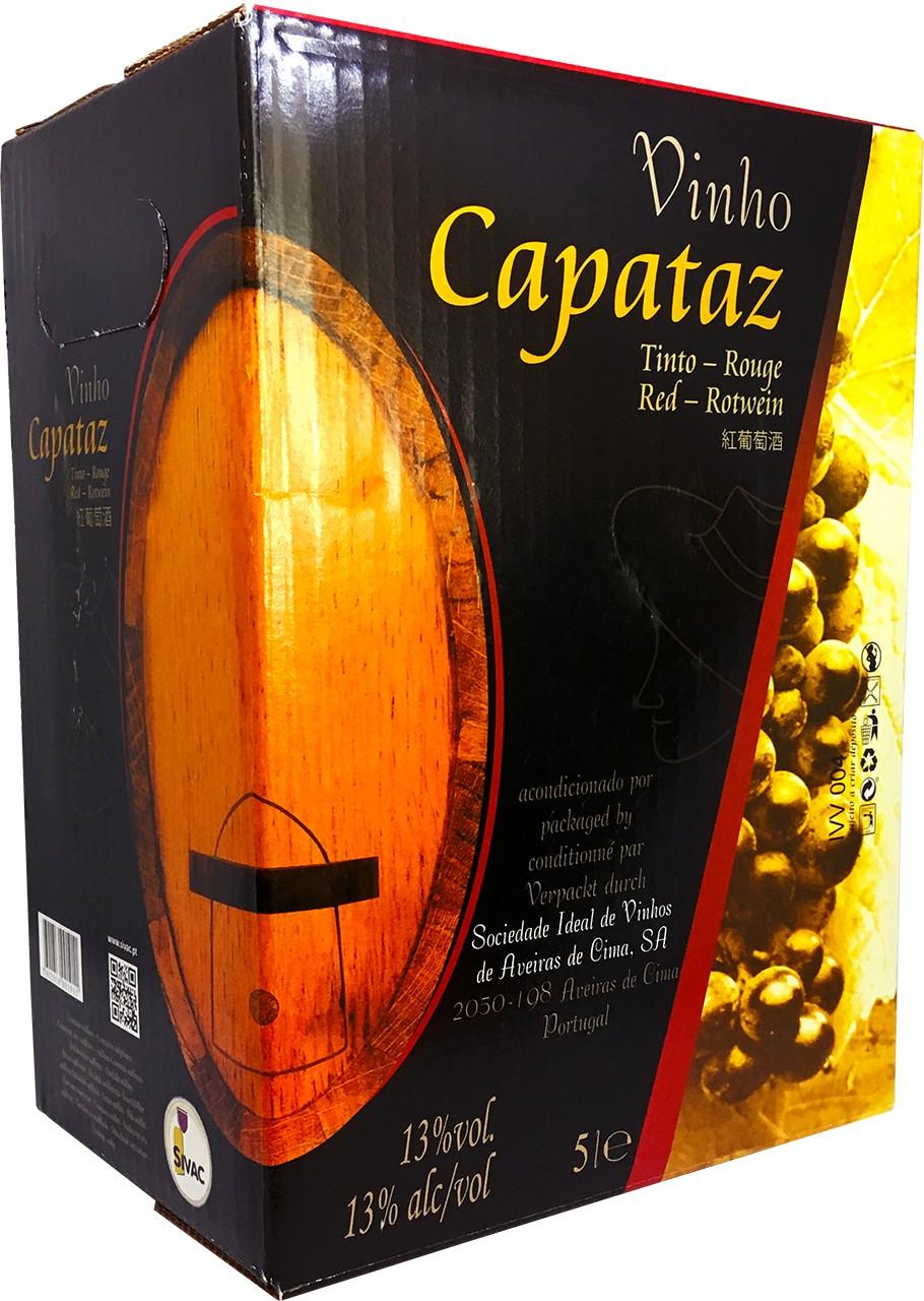 Capataz Tinto 5 Ltr. - Rotwein - Bag in Box - Tejo - Portugal