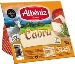 Ziegenkäse Albeniz 250 gr. - Queso de Cabra - Spanien