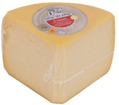 Queijo São Jorge DOP 4 Meses 2,5 Kg Ecke - Azoren-Käse - Portugal