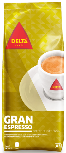 Röstkaffee, ganze Bohne - Café Delta Gran Espresso - Delta Cafés - Portugal