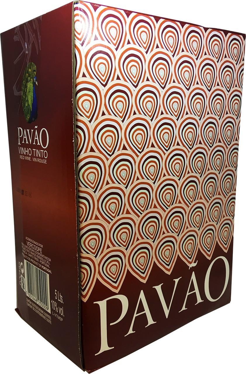 Pavão Tinto 5 Ltr. - Rotwein - Bag in Box - Vinho Verde - Portugal