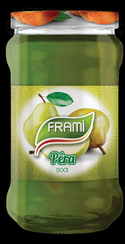 Birnenkonfitüre - Doce de Pera Frami