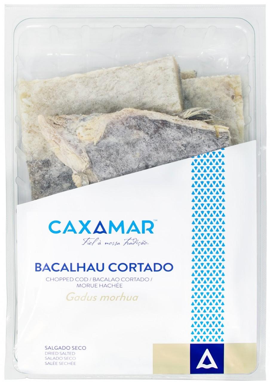 "Kabeljau geschnitten 1,4 Kg - Bacalhau ""Graúdo"" Cortado - Caxamar - Portugal"