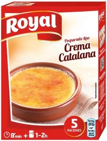 Katalanische Creme Dessert Zubereitungspulver - Crema Catalana - Royal - Spanien