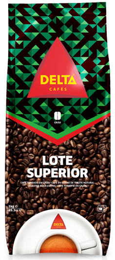 Röstkaffee, ganze Bohne - Café Delta Superior - Delta Cafés - Portugal