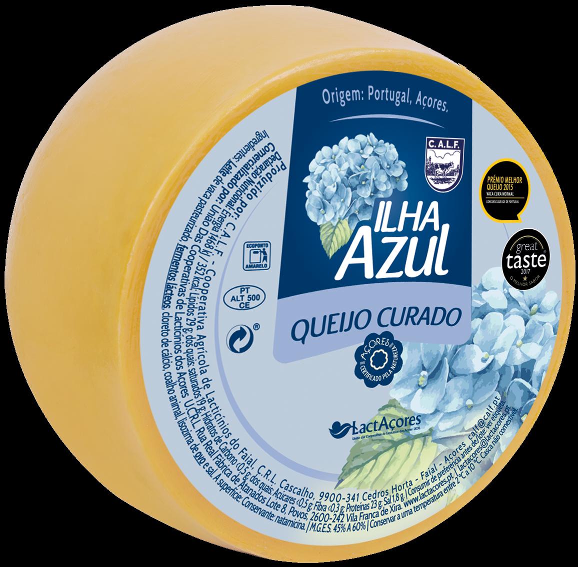 Queijo Ilha Azul Nova Açores 1 Kg - Azoren-Käse - Portugal