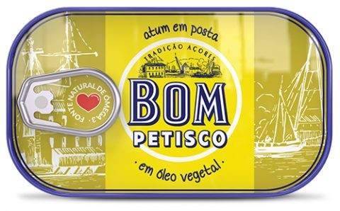 Thunfisch in Pflanzenöl - Atum em óleo vegetal Bom Petisco 120gr. - Portugal