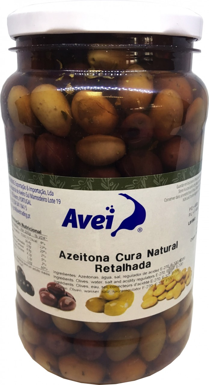 Eingelegte Grüne Oliven - Azeitonas Retalhada