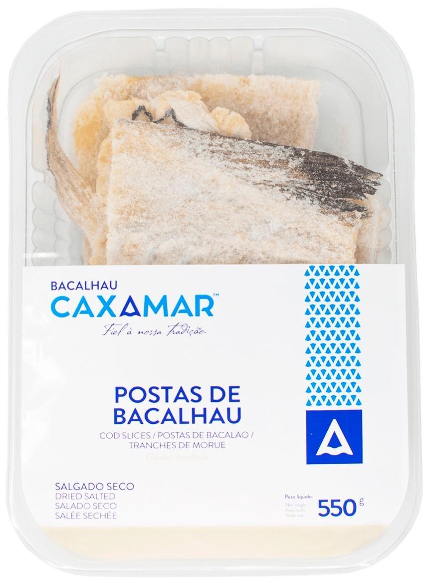 Kabeljauscheiben - Postas de Bacalhau 550gr. - Caxamar - Portugal