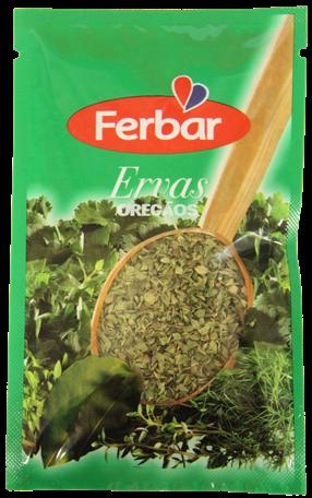 Oregano gerebelt - Oregãos 8gr. - Ferbar - Portugal