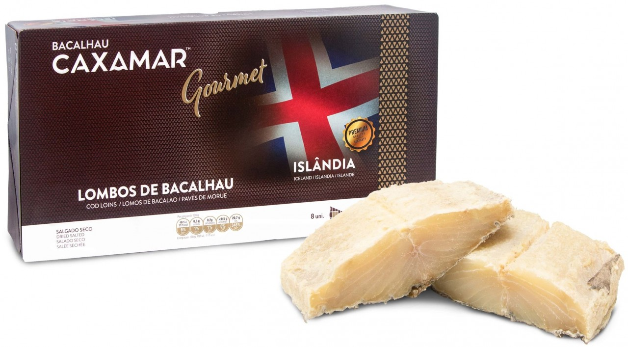 Island Kabeljau-Lenden PREMIUM - Lombos de Bacalhau Islândia 4Kg - Caxamar - Portugal
