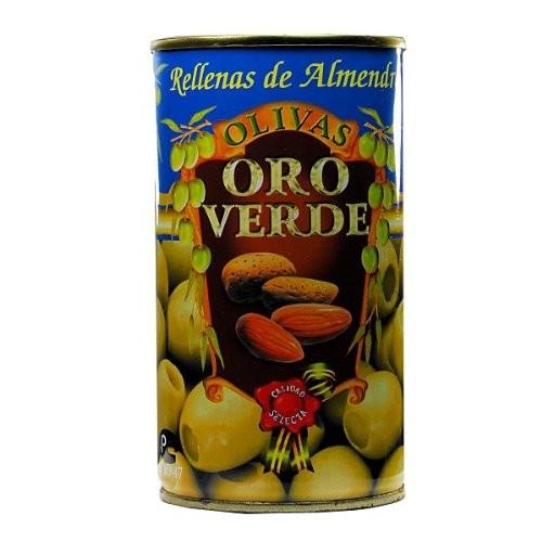 Oliven mit Mandelpaste gefüllt - Aceitunas rellenas de Almendra