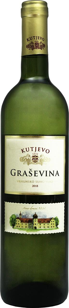 Kutjevo Graševina 0,75 Ltr. - Weißwein - Slavonien - Kroatien