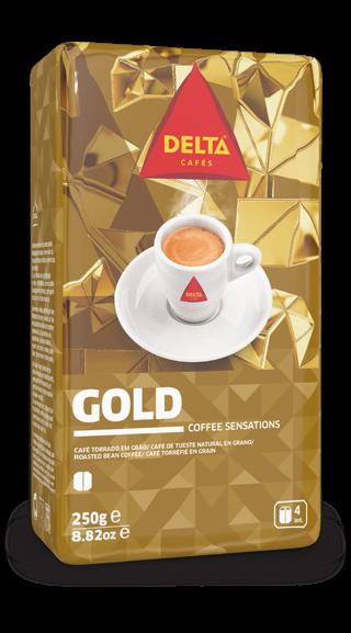Röstkaffee, ganze Bohne - Café Delta Gold