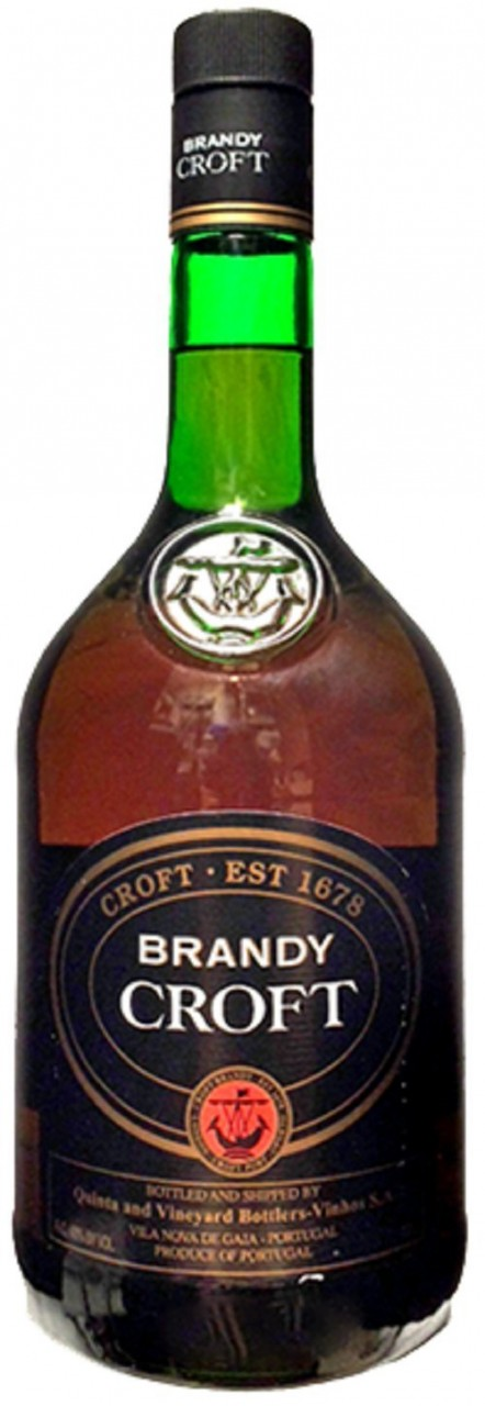 Brandy Croft 1 Liter - Portugal