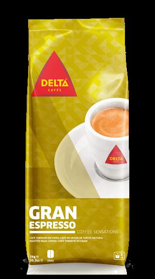 Röstkaffee, ganze Bohne - Café Delta Gran Espresso