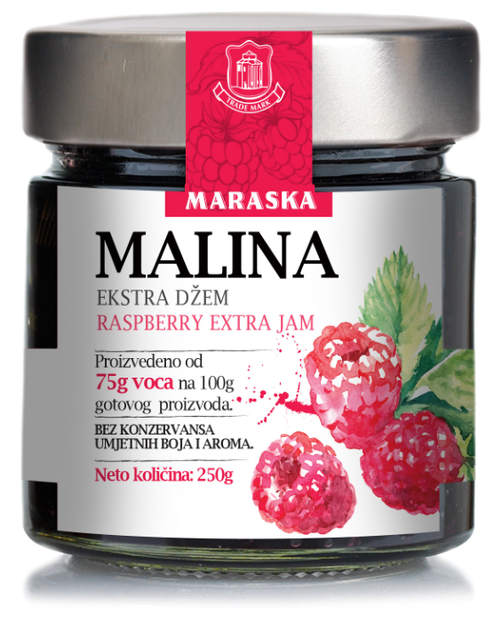 Maraska Malina džem - Himbeermarmelade - Kroatien