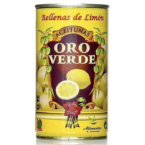 Oliven mit Zitronenpaste gefüllt - Aceitunas rellenas de Limon